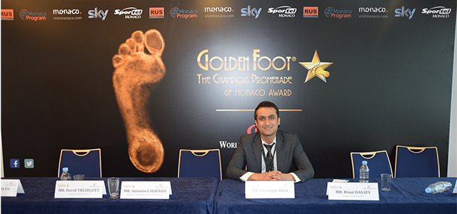 13th Golden Foot festival in Monaco on 21/09/2015